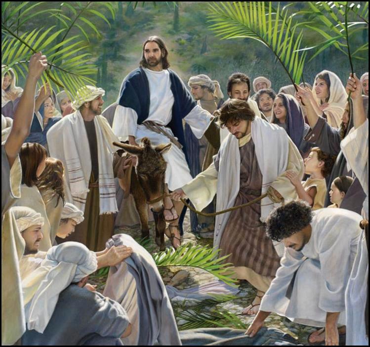 Entrada triunfal de Jesús